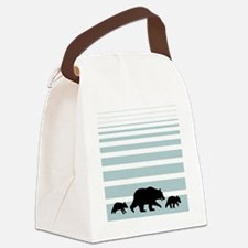grizzlybag2 Canvas Lunch Bag