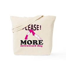 Downward Dog Tote Bag
