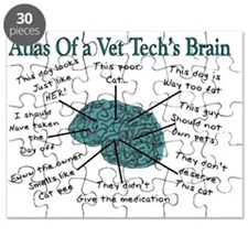atlas of a vet techs brain Puzzle