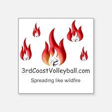 """Wildfire Square Sticker 3"""" x 3"""""""