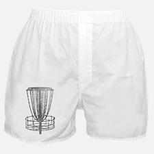 Metal Basket - Disc Golf NO TEXT Boxer Shorts