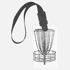 Metal Basket - Disc Golf NO TEXT Luggage Tag
