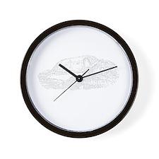 Long Duck Dong Wall Clock