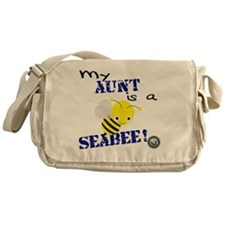 Aunt is a SeaBee Messenger Bag