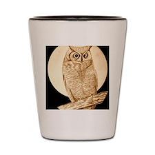 owl1 Shot Glass