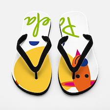 Pamela-the-goat Flip Flops