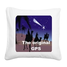 THE ORIGINAL GPS Square Canvas Pillow