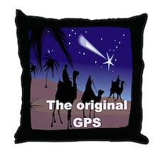 THE ORIGINAL GPS Throw Pillow