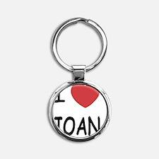 JOAN Round Keychain