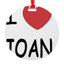 JOAN Round Ornament