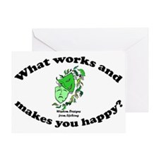 whatworksposter Greeting Card