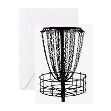 black basket NO TEXT Greeting Card