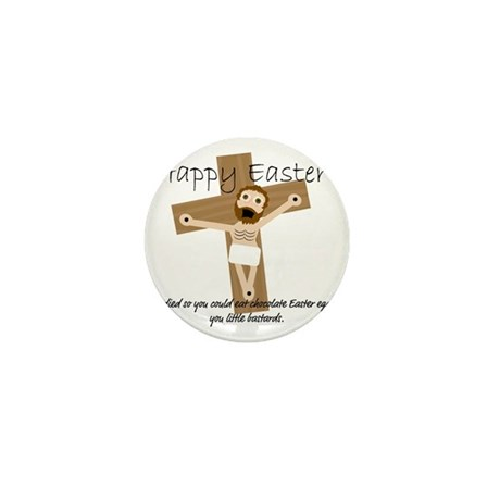 Happy Easter Jesus! Mini Button
