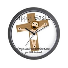 Happy Easter Jesus! Wall Clock