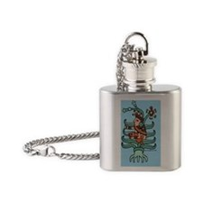 Mayahuel 23 x 35 Flask Necklace