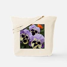 Multi colored Pansies Tote Bag