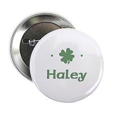 """""""Shamrock - Haley"""" Button"""