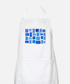 GREEK ABC TILES BBQ Apron