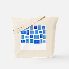 GREEK ABC TILES Tote Bag