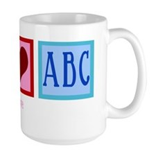 peaceloveabcwh Mug