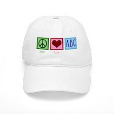 peaceloveabcwh Baseball Cap