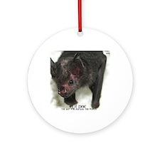 Lil-Drac-mousepad Round Ornament