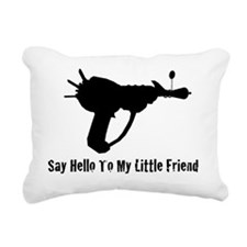 RayGun Rectangular Canvas Pillow