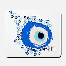 MATI-GREEK EYE Mousepad