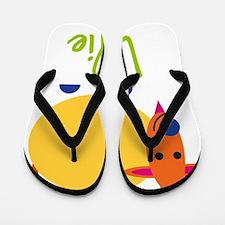 Lillie-the-goat Flip Flops