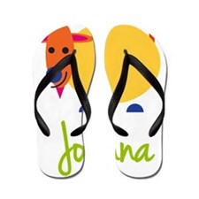 Joanna-the-goat Flip Flops