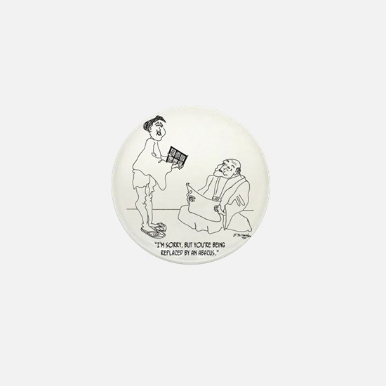 1186_abacus_cartoon Mini Button