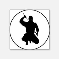 "readthisninja1 Square Sticker 3"" x 3"""