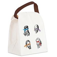 ninjapolymaths Canvas Lunch Bag