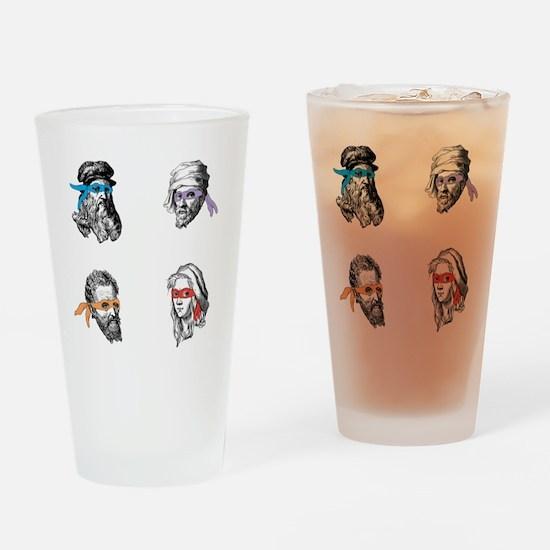 ninjapolymathsDARK Drinking Glass