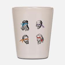ninjapolymathsDARK Shot Glass