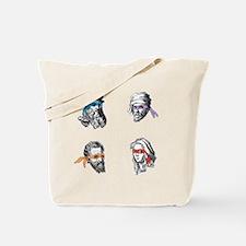 ninjapolymathsDARK Tote Bag