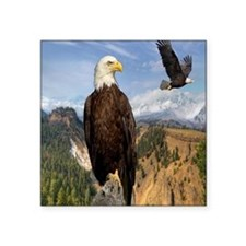 "eagles2 Square Sticker 3"" x 3"""