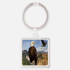 eagles2 Square Keychain
