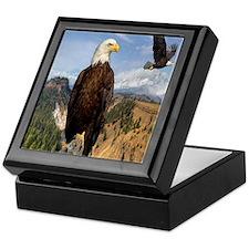 eagles2 Keepsake Box