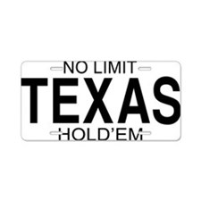 nolimitholdembb Aluminum License Plate