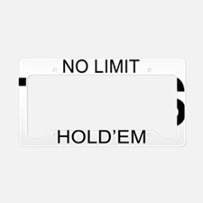nolimitholdembb License Plate Holder