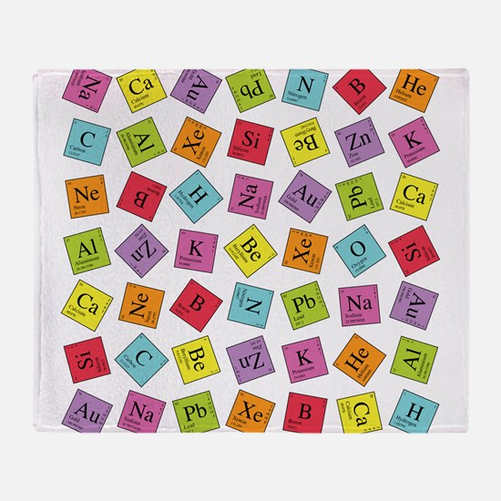 periodic_sq_1.png Throw Blanket