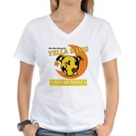 Yella Dawg Sarsaparilla Women's V-Neck T-Shirt