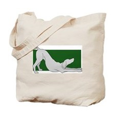 Stretching Weim 2 Sided Tote Bag