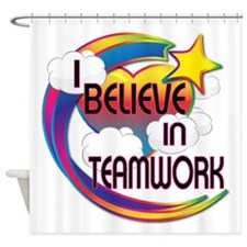 I Believe In Teamwork Cute Believer Design Shower