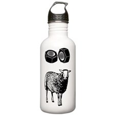 FUNNY_T SHIRT_blk_c Water Bottle