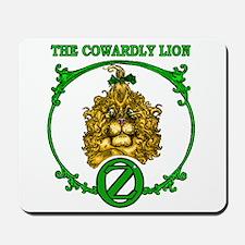 The Cowardly Lion Mousepad
