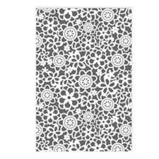 floral_lace_pattern_ipad_ Postcards (Package of 8)