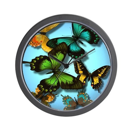 butterflies Wall Clock by Admin_CP9681023