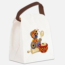 bear cook-001 Canvas Lunch Bag